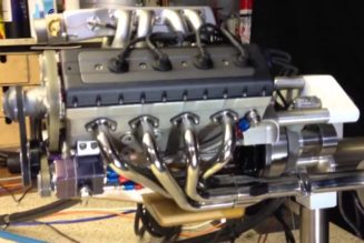 Don't Buy It, Build It:  Tiny, DIY 49 cc V8 Engine (w/ video)