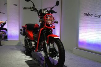 Forbidden Fruit:  New-for-2014 Honda Cross Cub 110
