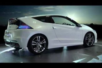 Honda's Hybrid CR-Z Inspired by Lotus, Volkswagen and the MINI Cooper