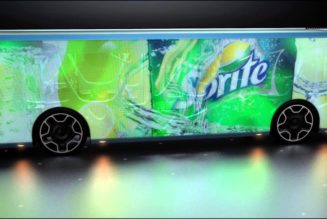 LCD-Covered Bus Is The Future Of Advertising