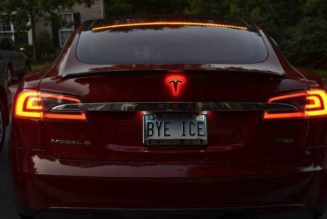 "LED Tesla ""T"" Symbol Now Offered For Model S"