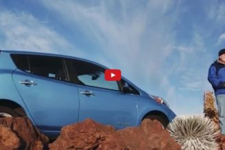 2015 Nissan LEAF Made From 25% Recycled Materials