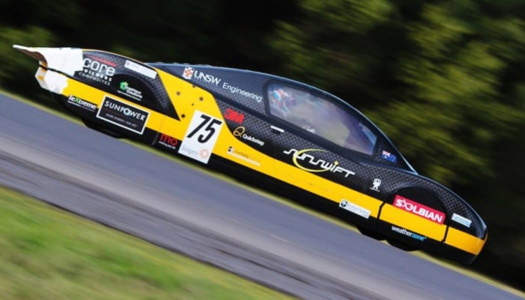 SunSwift Solar Car Goes Record 300 Miles On One Charge