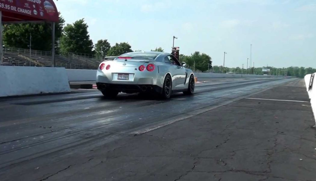Video:  Ethanol-fueled Nissan GTR Sets 1/4 Mile Record