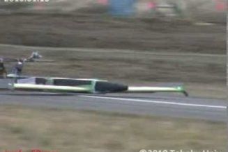 "Video: Hovering Robotic Electric ""Aero Train"""