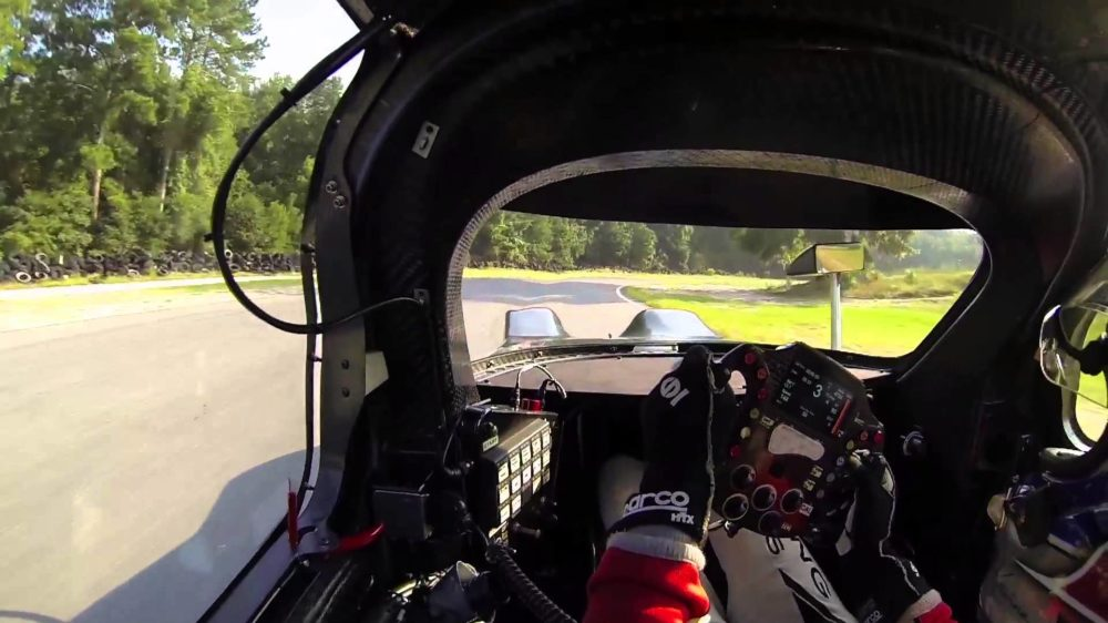Video:  Katherine Legge and the DeltaWing Coupe Hit the Track