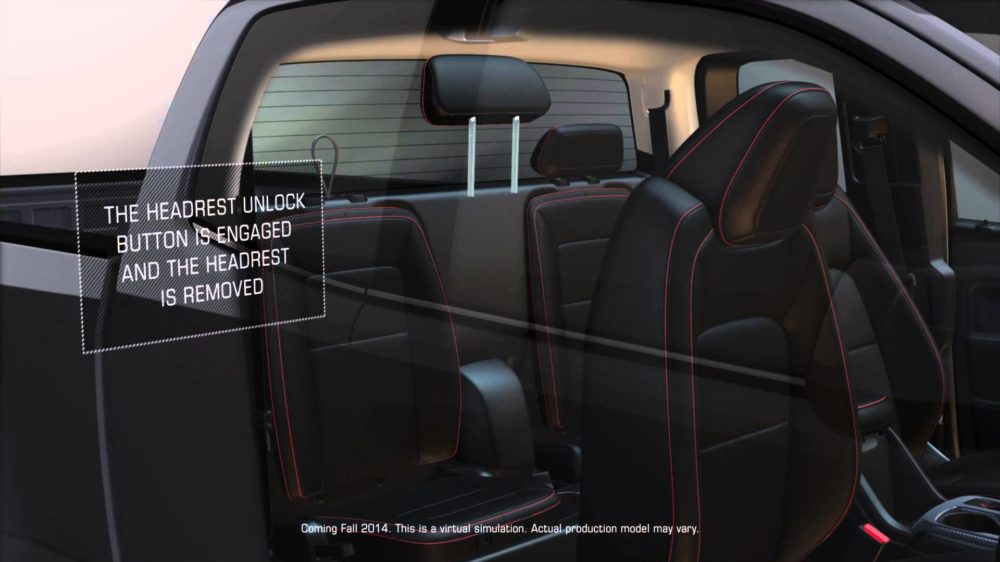 Will a Baby Seat Fit in a 2015 Chevy Colorado?  (w/ Video)