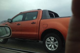 2016 Ford Ranger Spotted Testing In US, Again