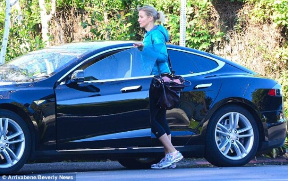 A List Of Celebrities Who Love Their Tesla Model S