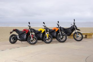 Federal Tax Credit Approved For Electric Motorcycles