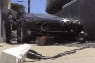 Tesla Won't Activate Man's Salvaged Model S
