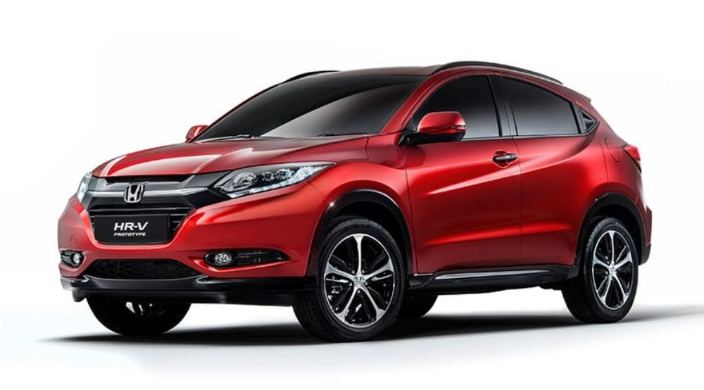 2015 Honda HR-V Arriving With Six-Speed Manual