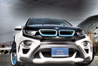 BMW i3 Gets Sporty Bodykit
