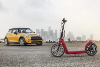 MINI Debuts Electric Scooter Instead Of Electric Car