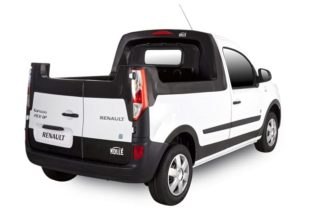 Renault Kangoo Z.E. Gets Pickup Makeover