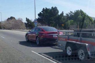 Tesla Caught Testing Towing, Up To 4400 lb Capacity