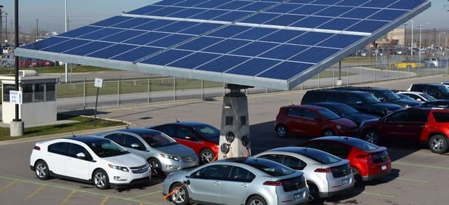Three Envision solar recharging stations will be installed in San Francisco to provide free charging for electric cars in 2015