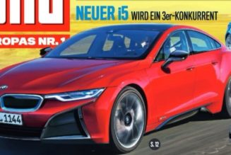 BMW i5 Could Arrive As Tesla Rival By 2018