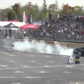 Tesla Model S Defies Musk With Formula Drift Action