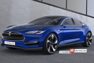 Latest Tesla Model III Rendering Make It More Of A Hatchback
