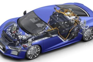 A Closer Look At The New Audi R8 E-Tron Battery
