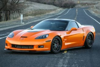 High-Performance, 100%-Electric Corvette Almost Here