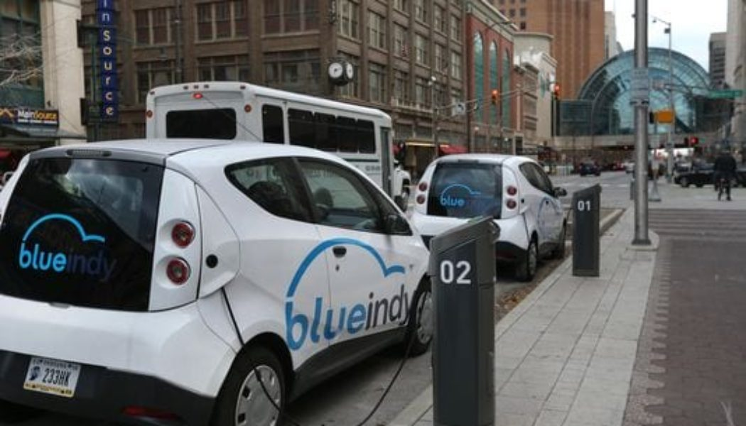 BlueIndy electric car sharing service will begin September 2
