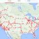 500th Tesla Supercharger Installed