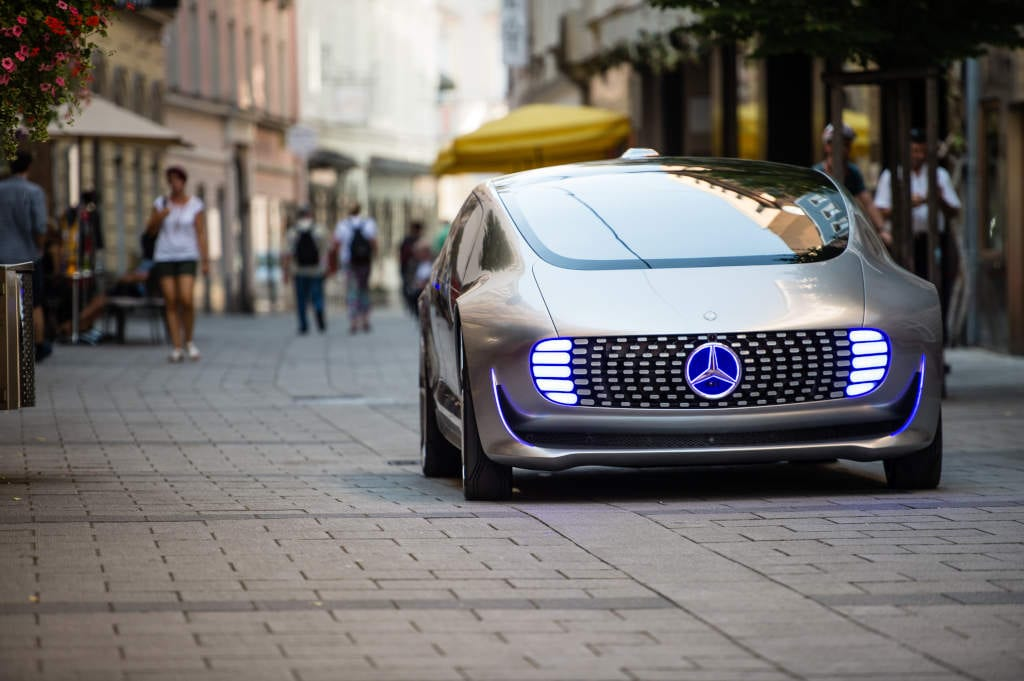 Mercedes electric car concept