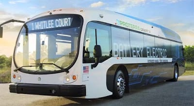 Proterra Catalyst XR goes 258 miles on a single charge