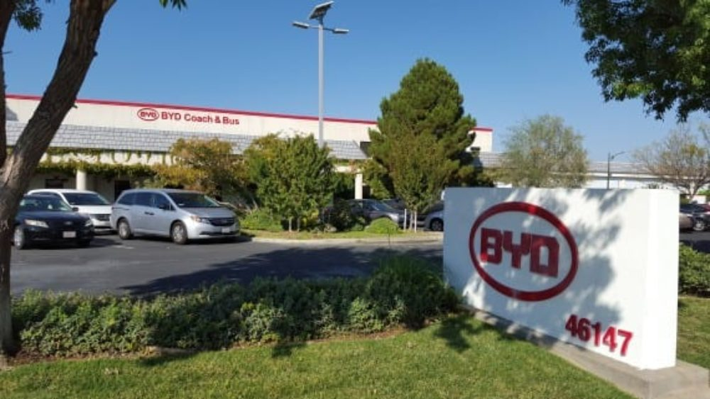 BYD Triples Size Of California Bus Factory