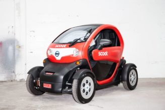Renault Twizy EV Comes to California
