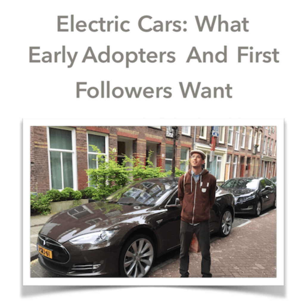 "GAS2 Report: ""Electric Cars: What Early Adopters & First Followers Want"""