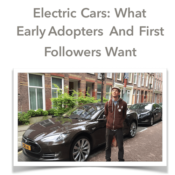 """GAS2 Report: """"Electric Cars: What Early Adopters & First Followers Want"""""""