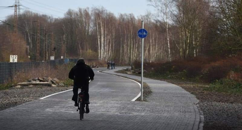 Bicycle Highway in Germany