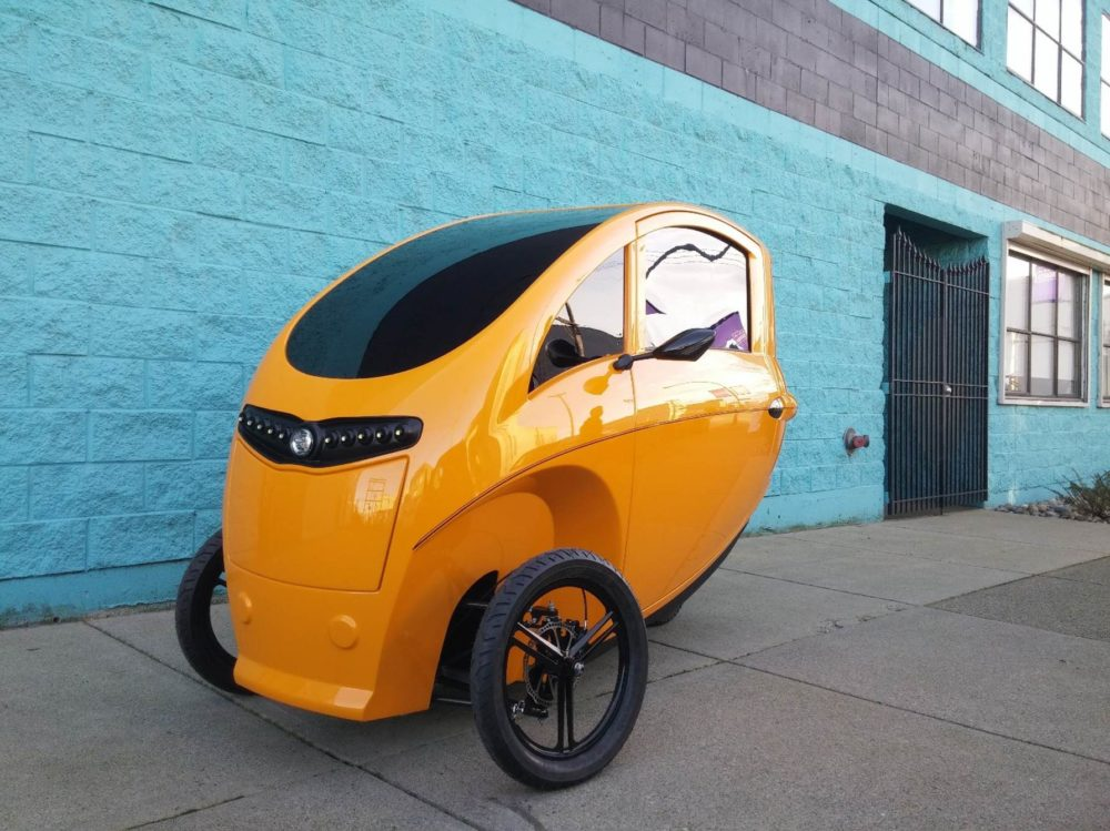 Veemo hybrid tricycle