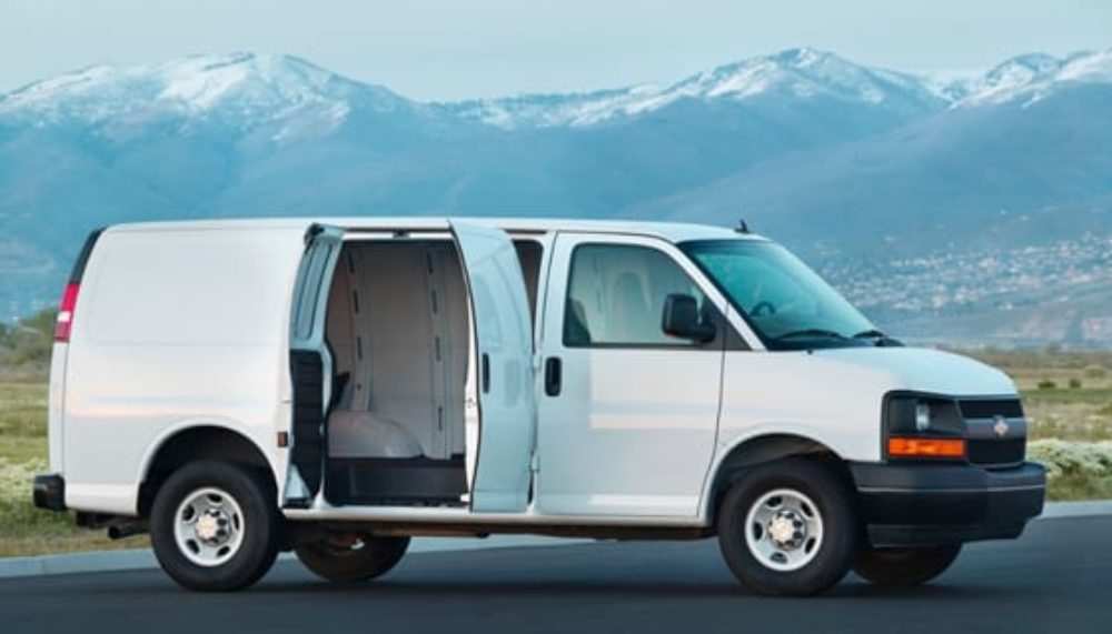 Chevy Express commercial vans