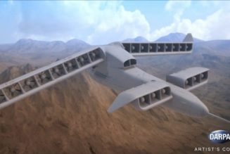 DARPA VTOL Electric airplanes