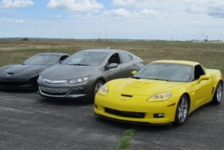 The Chevy Volt Goes To The Races