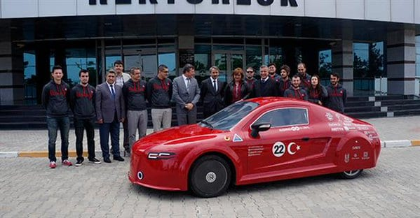 Pehlivan electric car from Turkey