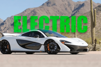 electric mclaren supercar