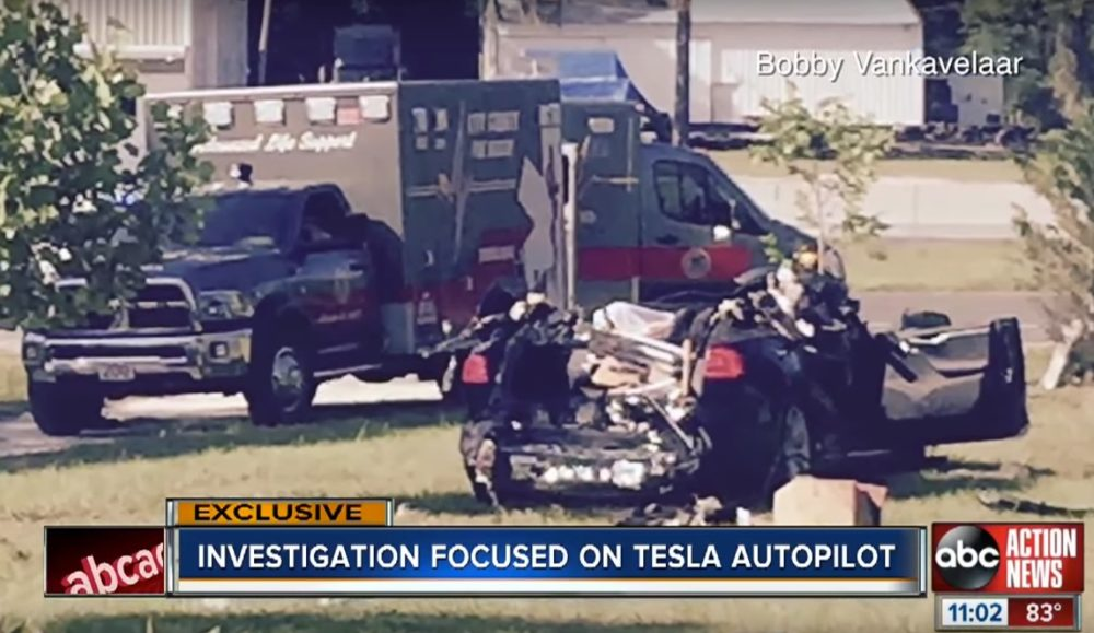 First Tesla Autopilot death