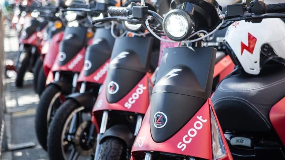 Scoot electric scooters