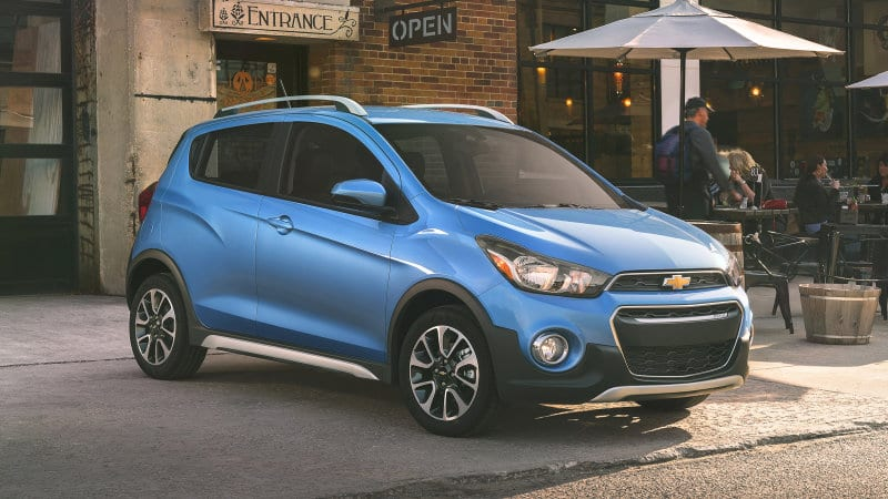 2017 Chevy Spark Activ Crossover