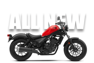2017 Honda Rebel - All New