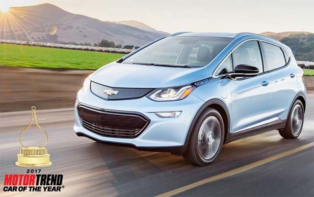 Chevrolet Bolt lifts EV sales in California