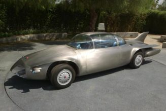 1956 Firebird II self driving car
