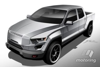 Workhorse plug-in hybrid pickup truck concept