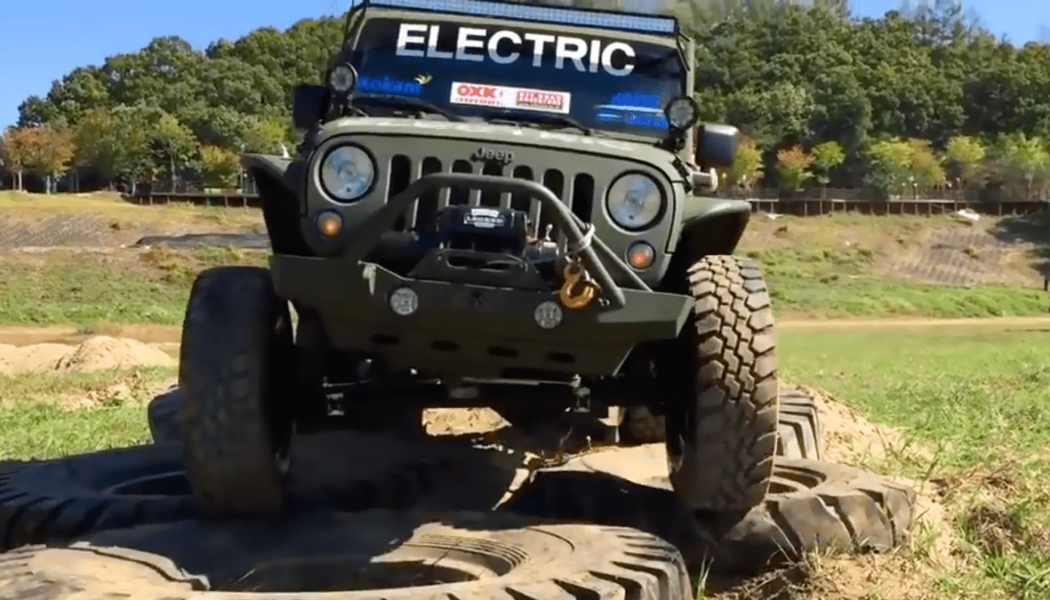 Electric Jeep Wrangler - Trail Rated