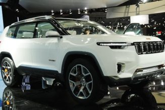 Jeep Yuntu 7 Passenger Plug-In Hybrid SUV For China